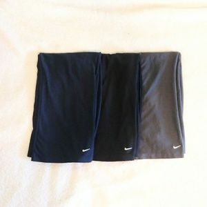 Bundle of Nike Dri Fit Athletic Capris
